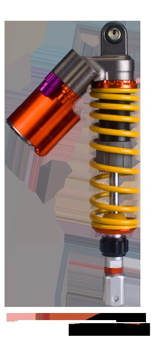 Xe máy (Ô tô điện) Hệ thống treo giảm xóc không khí phía sau QL-36GBR028